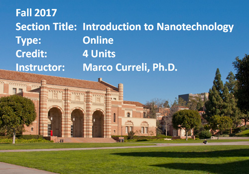 Our first online course taught at UCLA Extension