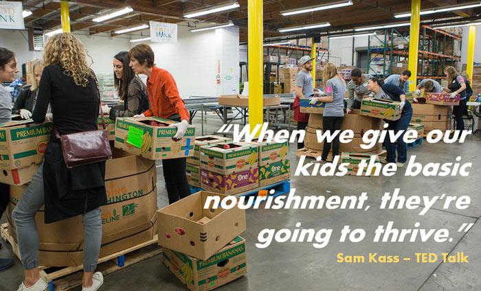 Omni Nano Supports Los Angeles Food Bank to Help Nourish Children