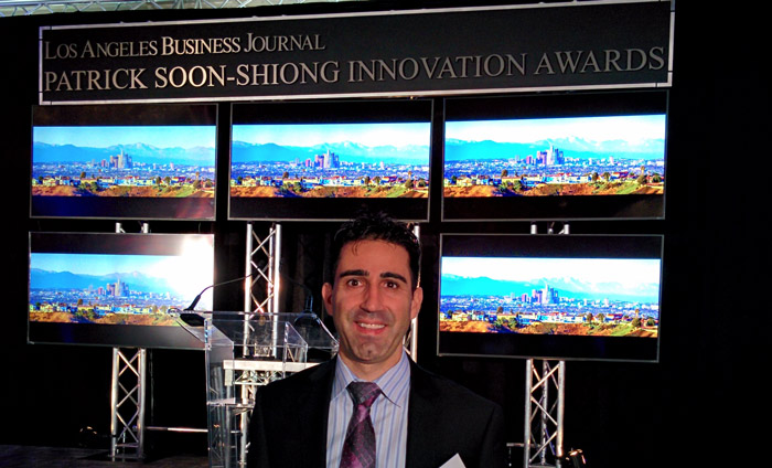 Omni Nano Attends Patrick Soon-Shiong Innovation Awards in 2016