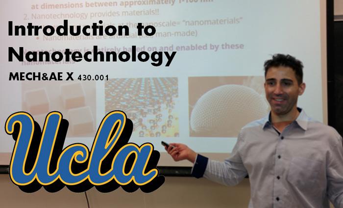 Omni Nano Teaches Intro to Nanotech Course at UCLA