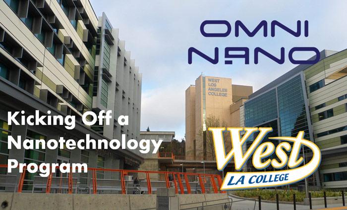 Omni Nano Kicks Off Nanotech Program Curriculum at West Los Angeles College