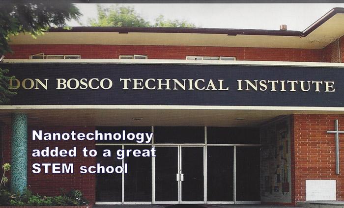 Preparing Leaders in STEM: Don Bosco Tech Learns Nanotech
