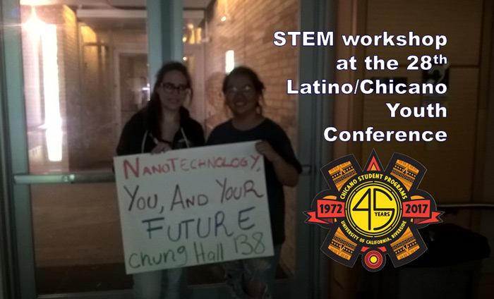 Omni Nano Inspires STEM Students at Annual Chicano/Latino Youth Conference