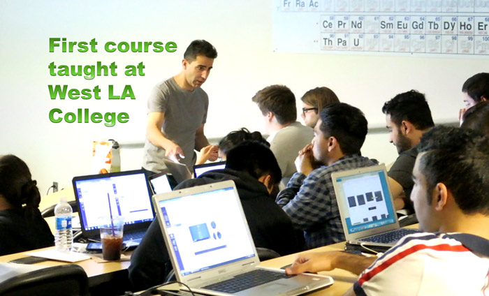 Omni Nano Teaches First Nanotechnology Course at West LA College
