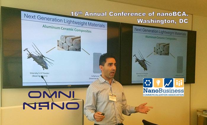 Updating the nanotech business community on the latest developments at Omni Nano