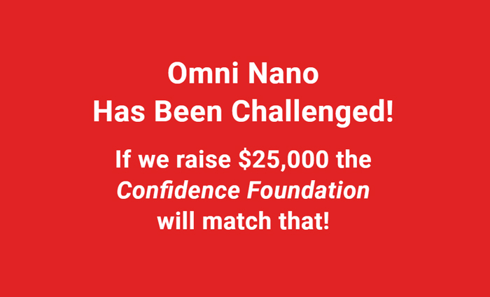 Omni Nano has been challenged by the Confidence Foundation.