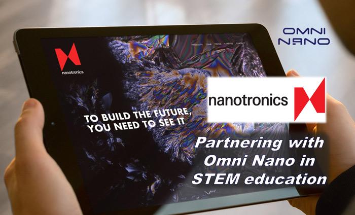Nanotronics supports STEM and nanotechnology education by supporting Omni Nano.