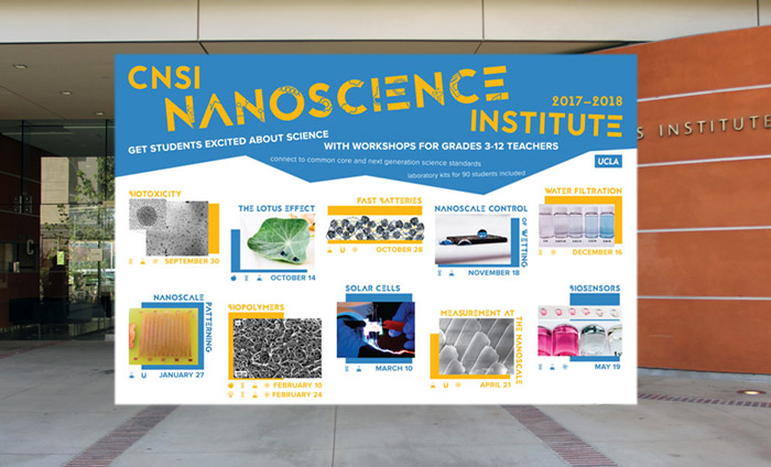 CNSI nanoscience workshops - 2017-18 flyer