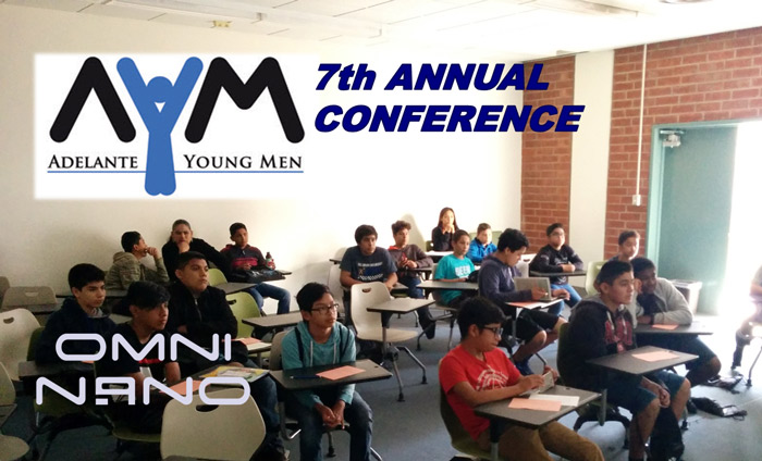 Omni Nano presented its Discover Nanotechnology Workshops at the 2017 Adelante Young Men Conference.