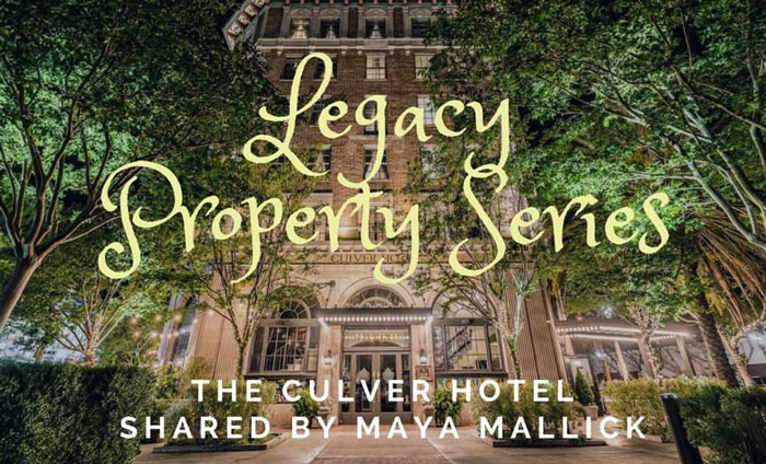 Legacy Property Series event at the Culver Hotel in Culver City.
