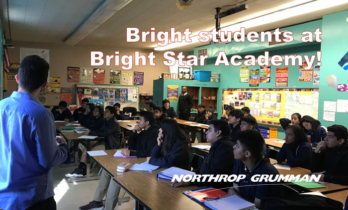 Today, Omni Nano presented its Discover Nanotechnology Workshops to 140 students at Bright Star Academy in Los Angeles, CA.