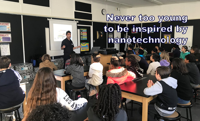Today, Omni Nano presented its Discover Nanotechnology Workshops to 40 students at Rosewood Elementary School in West Hollywood, CA.