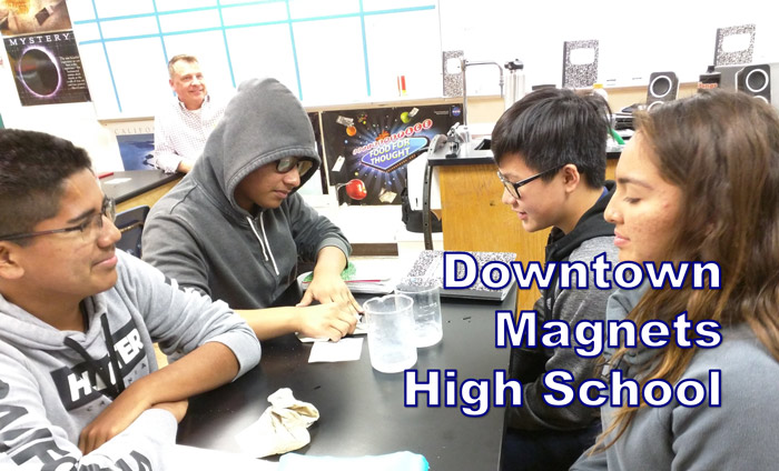 Yesterday and today, Omni Nano presented its Discover Nanotechnology Workshops to 120 students at Downtown Magnets High School in Los Angeles, CA.