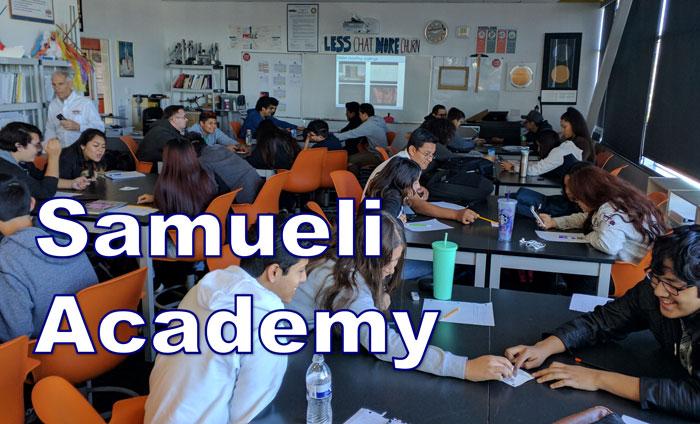 Omni Nano presented its Discover Nanotechnology Workshops to 80 students at the Samueli Academy in Santa Ana, CA.