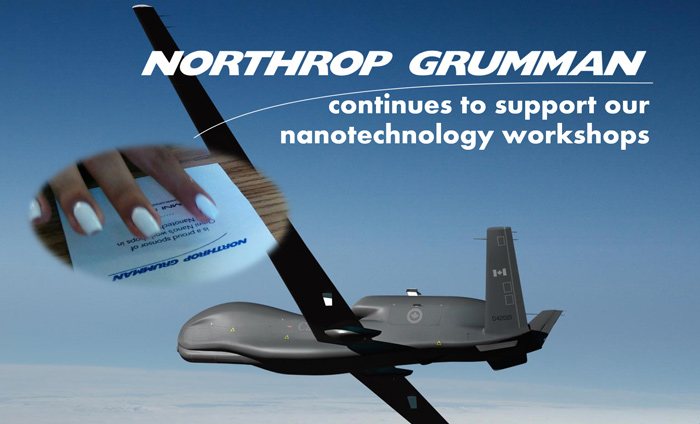 Northrop Grumman continues to inspiring local students by supporting more nanotechnology workshops.