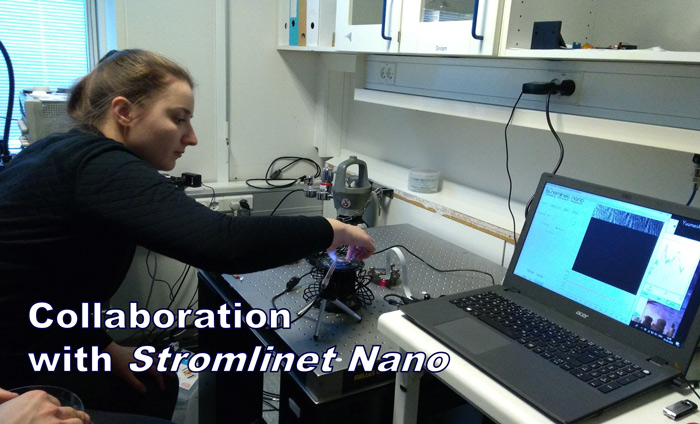 Through this valuable partnership, Omni Nano will be able to bring Strømlinet Nano AFMs into future classes and workshops.