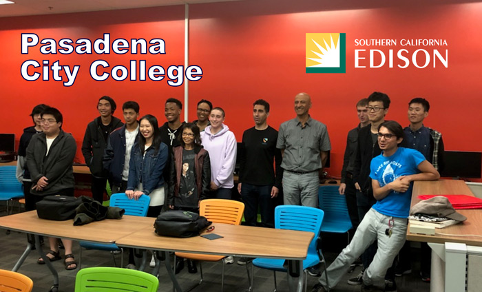 Today, Omni Nano presented its Discover Nanotechnology Workshops to 20 students at Pasadena City College.