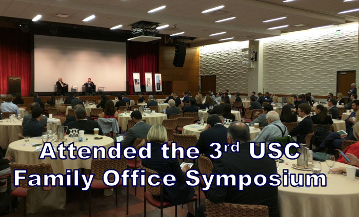 Omni Nano has been honored to attend the annual USC Family Office Symposium, now in its third year, since its inception