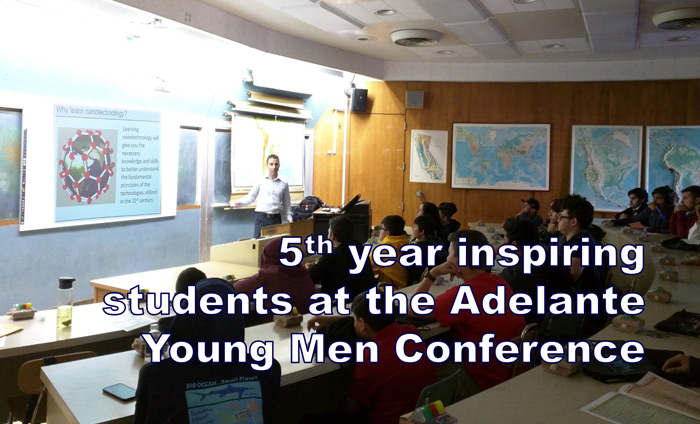 Omni Nano is proud to have attended the Adelante! Young Men (AYM) Conference as a speaker for the fifth consecutive year