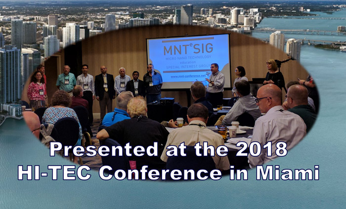 Omni Nano was honored to speak at the NSF-sponsored HI-TEC Conference as part of the MNTeSIG, a national leader in nanotechnology education
