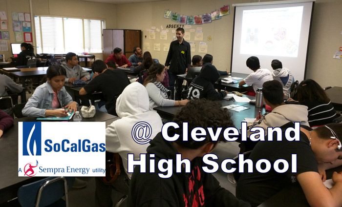 It was a pleasure to present Discover Nanotechnology workshops to two chemistry classes today at Cleveland High School.