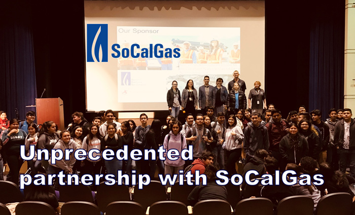 Omni Nano is thrilled to announce our extended partnership with SoCalGas, now sponsoring LAUSD students to learn nanotechnology with Omni Nano's digital curriculum and textbook.