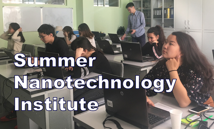 A highly motivated group of students at Nazarbayev Intellectual School of Physics and Mathematics in Uralsk, Kazakhstan, have just completed a Summer Nanotechnology Institute using Omni Nano's digital textbook and standardized curriculum.